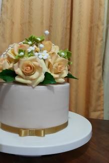 Custom Fondant Cake